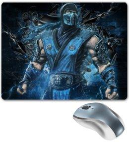 """Коврик для мышки """"Mortal Kombat"""" - игры, геймер, фанаты, саб зиро, по играм"""