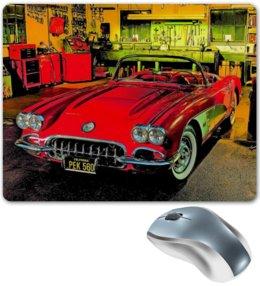 "Коврик для мышки ""Retro Car"" - ретро, машина, автомобиль, retro, car"