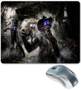 """Коврик для мышки """"Call of Duty"""" - зомби, игры, пещера, call of duty, компьютерные"""