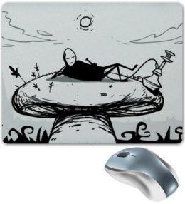 "Коврик для мышки ""Mr. Freeman"" - mr freeman, мистер фримен, мистер свободный человек, кальян, гриб"
