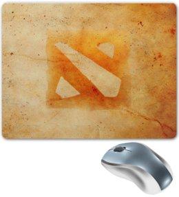 """Коврик для мышки """"Dota 2"""" - dota, dota 2, дота 2, dota 2 logo"""