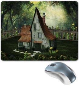 """Коврик для мышки """"Фантазия"""" - дом, природа, фантазия"""