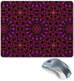 """Коврик для мышки """"purple"""" - арт, узор, фиолетовый, абстракция, фигуры"""