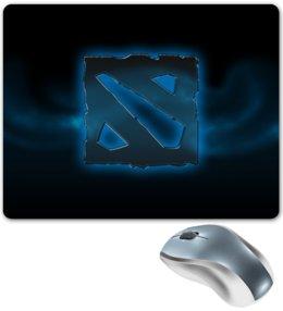 """Коврик для мышки """"Dota 2"""" - dota, dota 2, дота лого"""