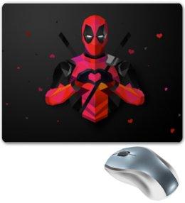 """Коврик для мышки """"Deadpool"""" - любовь, deadpool, дэдпул"""