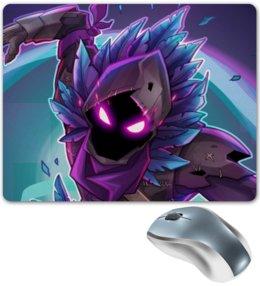 """Коврик для мышки """"Raven"""" - games, игры, ворон, fortnite, фортнайт"""