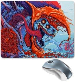 """Коврик для мышки """"Зверь"""" - игры, зверь, монстр, яркие, цветные"""