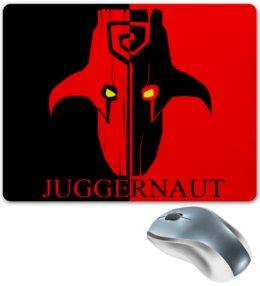 """Коврик для мышки """"Джаггернаут"""" - valve, dota 2, дота, juggernaut, джаггернаут"""