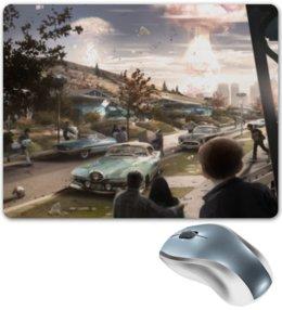"""Коврик для мышки """"Fallout 4"""" - игры, взрыв, фоллаут, фоллыч"""