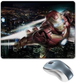 """Коврик для мышки """"Iron Man"""" - comics, супергерой, marvel, superhero, железный человек"""