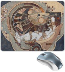 """Коврик для мышки """"Окно в Бесконечность"""" - космос, фантастика, ракета, космонавт"""
