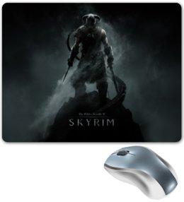 """Коврик для мышки """"Skyrim"""" - skyrim, скайрим, the elder scrolls"""