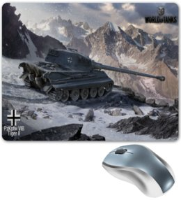 "Коврик для мышки ""World of Tanks"" - игры, world of tanks, танки, wot, tanks, video games"