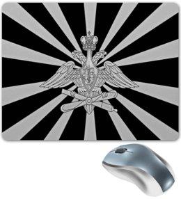 """Коврик для мышки """"Герб России"""" - русский, патриот, россия, флаг, рф"""