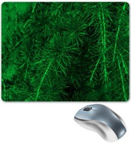"""Коврик для мышки """"Зеленая ель"""" - деревья, зеленый, природа, елка, ель"""