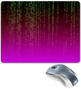 "Коврик для мышки ""матрица"" - компьютеры, матрица, код, программа, пароль"
