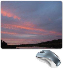 """Коврик для мышки """"Небо и Дон река. Sky and DON River"""" - небо, река, небо и дон река, wikel"""