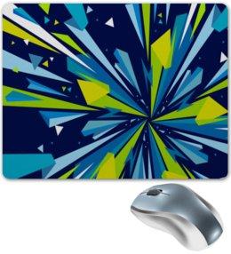 """Коврик для мышки """"Осколки"""" - графика, краски, текстуры, осколки, стекла"""