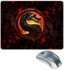 """Коврик для мышки """"Mortal kombat"""" - игры, mortal kombat, смертельная битва, мортал комбат, video games"""