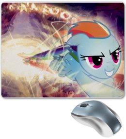 """Коврик для мышки """"Rainbow dash (my little pony)"""" - популярные"""