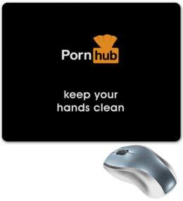 "Коврик для мышки ""PornHub"" - эротика, porn, порно, pornhub"