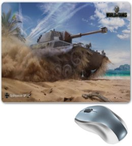 "Коврик для мышки ""Spahpanzer SP l C   "" - world of tanks, танк, танки, wot, вот"