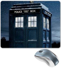 """Коврик для мышки """"Тардис"""" - doctor who, tardis, доктор кто, тардис"""
