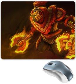 """Коврик для мышки """"Dota 2 - Fire Spirit"""" - dota 2, дота 2, fire spirit, фаер спирит"""