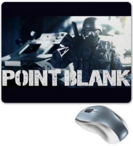 "Коврик для мышки ""Point Blank"" - игры, point blank, киберспорт, шутер"