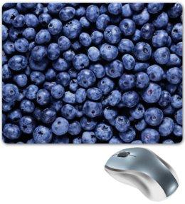 """Коврик для мышки """"Черника"""" - ягоды, черника, blueberry"""