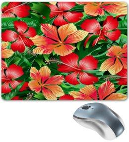 """Коврик для мышки """"Сад цветов"""" - цветочки, природа, лето, весна, цветы"""