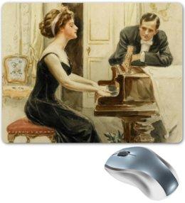 """Коврик для мышки """"День Святого Валентина"""" - арт, настроение, винтаж, 14фев, harrison fisher"""