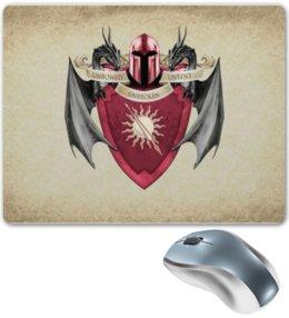 """Коврик для мышки """"Мартеллы"""" - герб, игра престолов, мартеллы"""