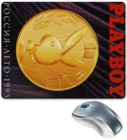 """Коврик для мышки """"Playboy Россия Лето 1995"""" - playboy, россия, плейбой, плэйбой, лето 1995"""