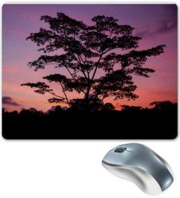 """Коврик для мышки """"Закат на острове Бали"""" - закат, алина макарова, бали, индонезия"""