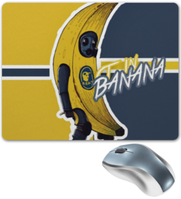 "Коврик для мышки ""CS GO"" - банан, cs go, кс го"