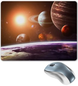 """Коврик для мышки """"Покоряя космос"""" - космос, наука, марс, thespaceway, space"""