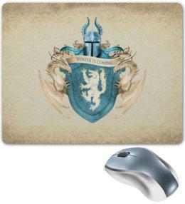 """Коврик для мышки """"Старк"""" - герб, игра престолов, старки"""