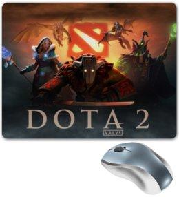 """Коврик для мышки """"дота 2"""" - games, игры, dota 2, дота2"""