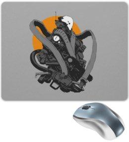 """Коврик для мышки """"Робот"""" - robot, робот, киборг, cyborg"""