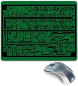 "Коврик для мышки ""Электроника"" - дизайн, техника, наука, электроника"