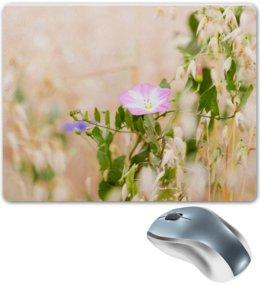 """Коврик для мышки """"Нежный полевой цветок"""" - цветы, цветок, природа, нежность, алина макарова"""