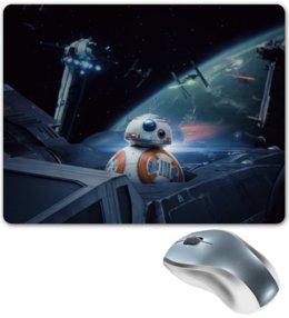 "Коврик для мышки ""Star Wars"" - фантастика, star wars, звездные воины, империя, джедай"