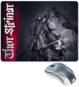 """Коврик для мышки """"Thor Steinar Brand"""" - одежда, бренд, brand, тор штайнер, thor steinar"""