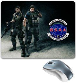 "Коврик для мышки ""Resident Evil"" - resident evil, umbrella, re, bsaa, racoon city"