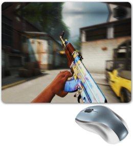 """Коврик для мышки """"Counter Strike"""" - игры, компьютерные игры, counter strike, оружие, контр страйк"""