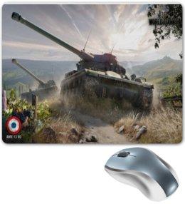 """Коврик для мышки """"amx 13 90"""" - world of tanks, танки, tank, wot"""