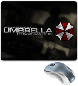 """Коврик для мышки """"Umbrella Corporation"""" - игры, по играм, об играх, игры umbrella corporation"""