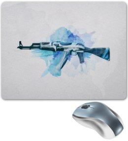 "Коврик для мышки ""AK-47 | Vulcan"" - ак-47, counter strike, оружие, cs go, контра"