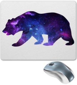 "Коврик для мышки ""Space animals"" - space, bear, медведь, космос, астрономия"
